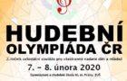 HUDEBNÍ OLYMPIÁDA ČR 2020