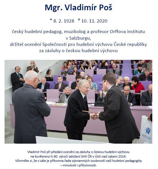 Za Vladimírem Pošem